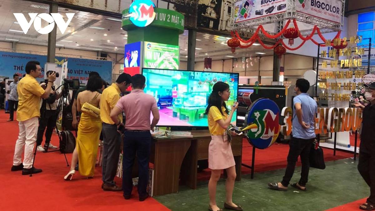 Triển lãm VietAd 2021 là một trong những sự kiện được khách hàng trong ngành in ấn, quảng cao mong đợi nhất trong năm.