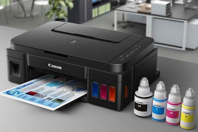 Mẫu máy in phun đơn năng PIXMA G1010 được mua nhiều nhất trong giai đoạn Covid-19 do phù hợp nhu cầu sử dụng cá nhân.